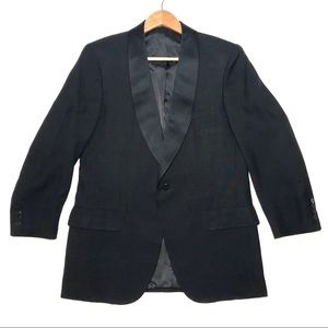 Oxxford Size 42R Bespoke Shawl Silk Tuxedo Jacket